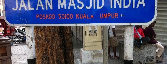 Jalan Masjid India is one of Kuala Lumpur is HIP!.