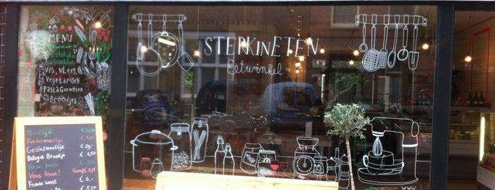 sterk in eten is one of My favorites in Amsterdam.