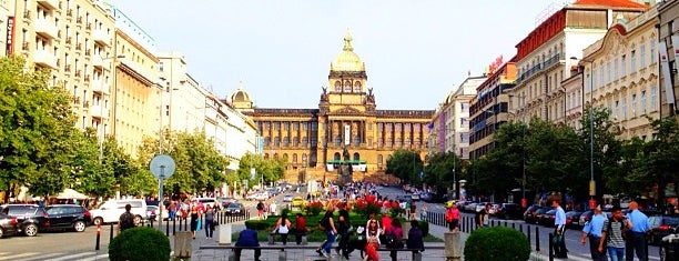 Wenceslas Square is one of Prague.