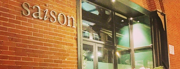 Saison is one of Best Restaurants.