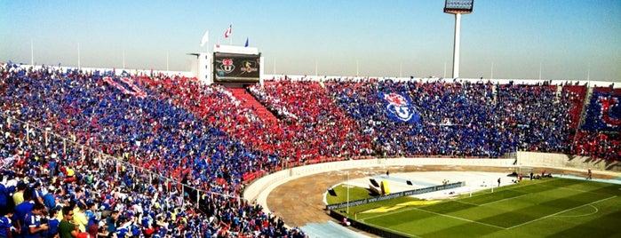 Estadio Nacional Julio Martínez Prádanos is one of Favorite Arts & Entertainment.