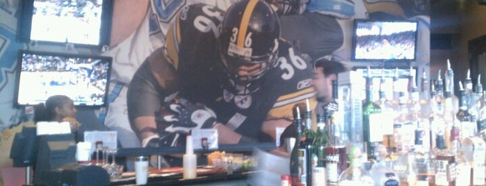Jerome Bettis' Grille 36 is one of Restaurants and Bars.