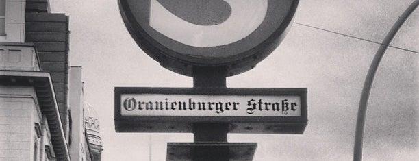 S Oranienburger Straße is one of Sbahn berlin.