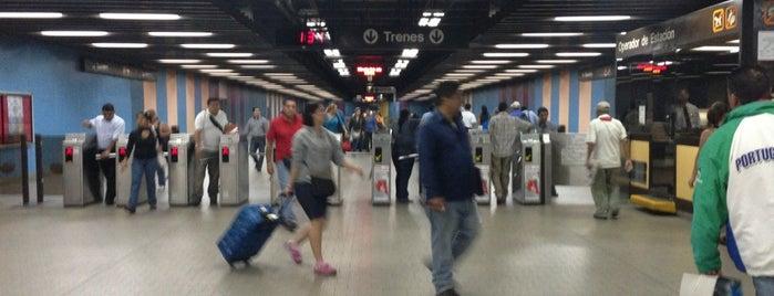 Metro - La Bandera is one of Sistema Metro de Caracas - Linea 3.