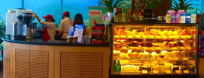 Cafe Bonjour is one of Favorite Food.