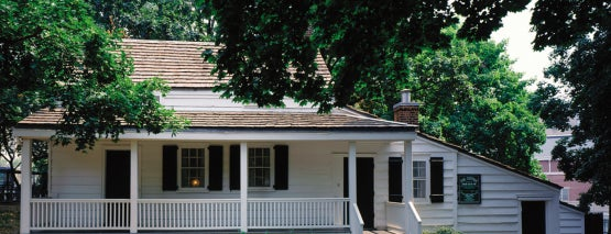 Edgar Allan Poe Cottage is one of NYC Stay-cation.