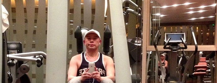 Westin Workout is one of Healthy Beijing.