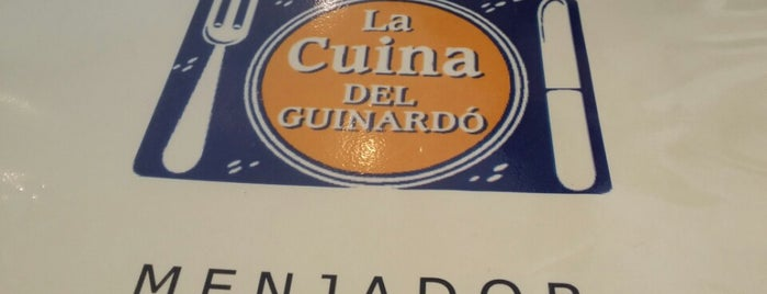 La Cuina del Guinardó is one of Favourite Restaurants (Spain).