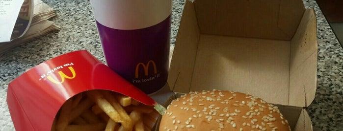 McDonald's is one of David's Tips.