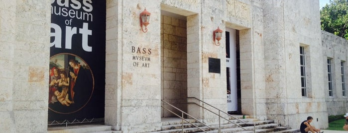 Bass Museum of Art is one of Where to Get Cultured - Miami.