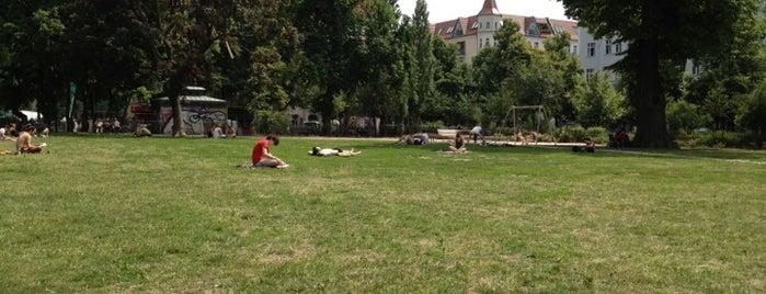 Boxhagener Platz is one of Berlin | F'hain.