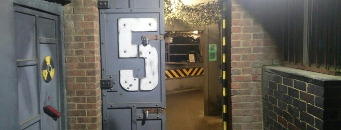 Bunker 51 Paintball & Laser Tag is one of London.