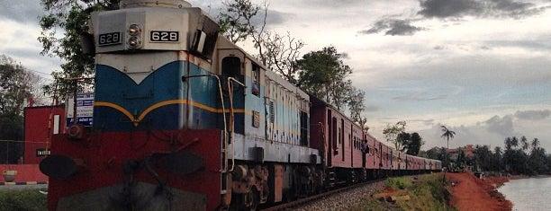 Kalutara Railway Station is one of Railway Stations In Sri Lanka.