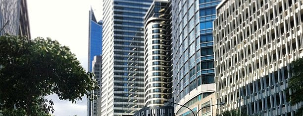 Ayala Avenue is one of Must-visit Great Outdoors in Makati City.