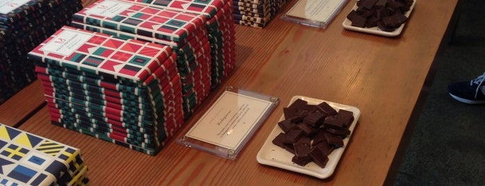 Mast Brothers Chocolate Factory is one of Williamsburg's Best.