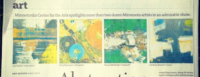 Minnetonka Center For The Arts is one of Art.