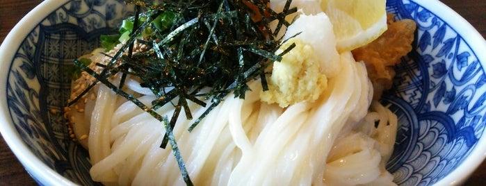 うどん酒房 ひなた is one of めざせ全店制覇~さぬきうどん生活~ Category:Ramen or Noodle House.