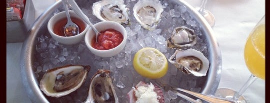 Clark's Oyster Bar is one of Sujei's tips.
