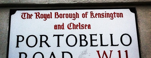 Portobello Road is one of London City Badge - London Calling.