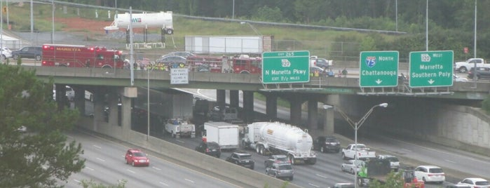 I 75: Exit 263 S Marietta Pkwy is one of The Chad.