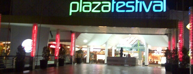 Plaza Festival is one of Malls in Jabodetabek.