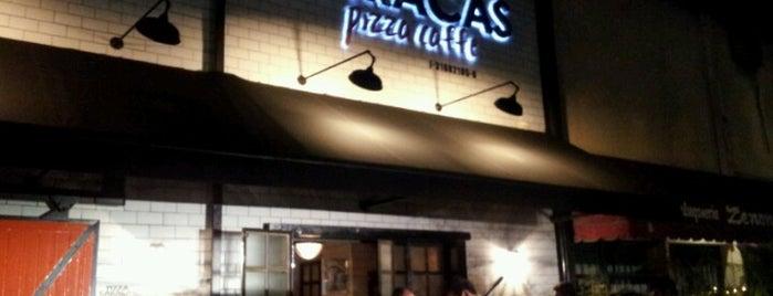 Pizza Caracas. Pizza-Caffe is one of Caracas Wi-Fi.