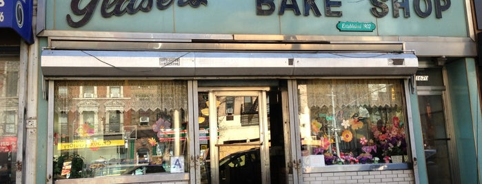 Glaser's Bake Shop is one of NYC Sweets.