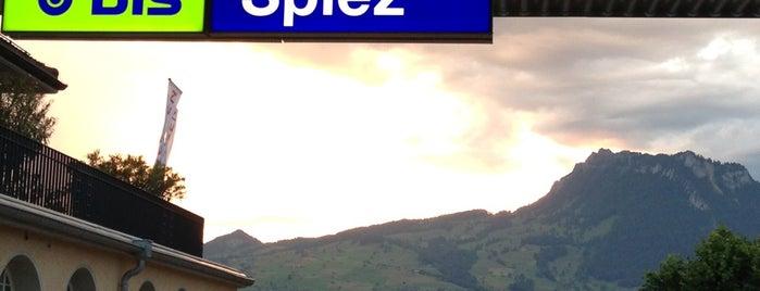 Bahnhof Spiez is one of Bahnhöfe Top 200 Schweiz.