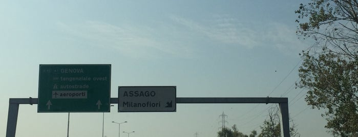A7 - Uscita «Assago» «Milanofiori» is one of A7 Milano-Genova.