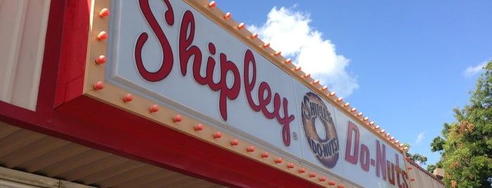 Shipley Donut Shops is one of Houston Press - 'We Love Food' - 2012.
