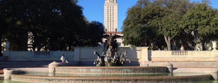 Littlefield Fountain is one of 40 Acres Self-Guided Tour.