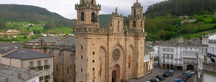 Praza da Catedral is one of Visitar en Mondoñedo.
