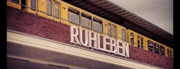 U Ruhleben is one of U-Bahn Berlin.