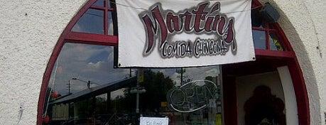 Martin's Comida Chingona is one of Vegan Tucson.