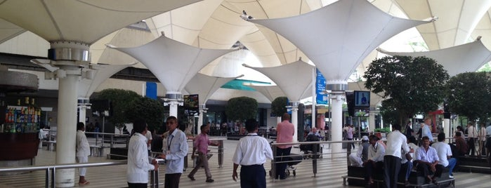 Chhatrapati Shivaji International Airport (BOM) is one of Our India Trip 2012.