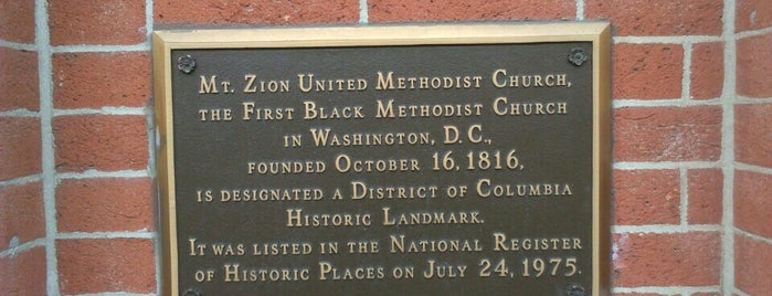 Mount Zion United Methodist Church is one of Members.