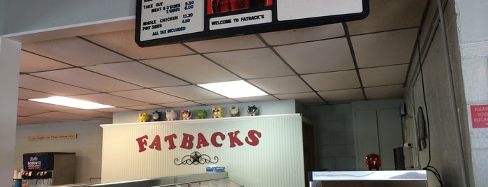 Fatbacks BBQ is one of South Carolina Barbecue Trail - Part 1.