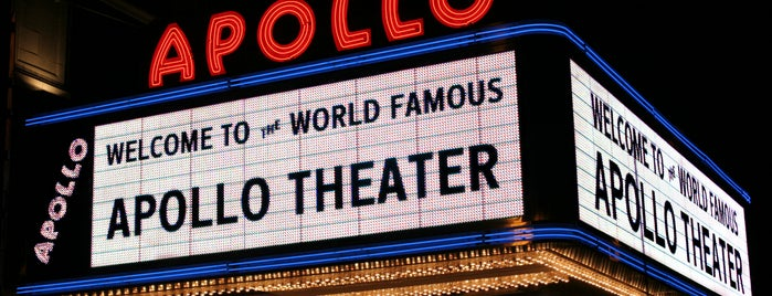 Apollo Theater is one of Silvia a Nova York.