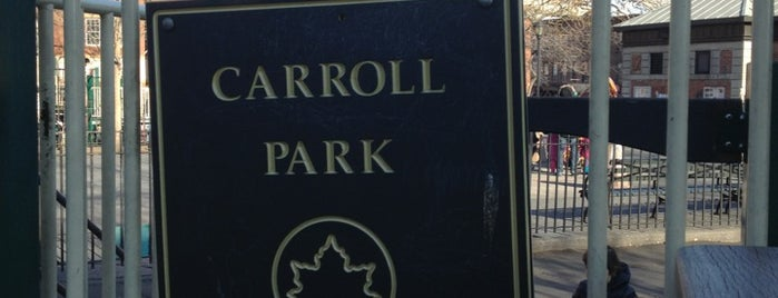 Carroll Park is one of NY Greater Outdoor & Swimies.