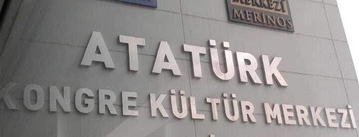 Merinos Atatürk Kongre Kültür Merkezi is one of BURSASPOR 4sq.