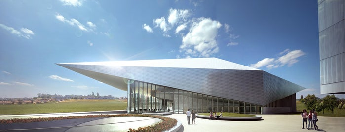SwissTech Convention Center is one of Bâtiments EPFL.