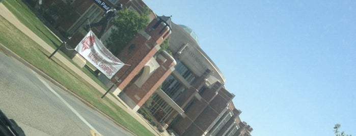 Gaylord Hall is one of University of Oklahoma.