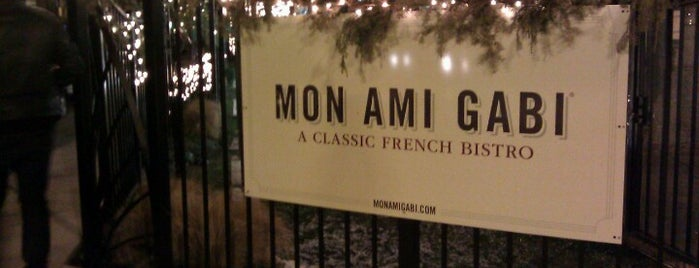 Mon Ami Gabi is one of my favorite places.