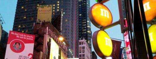 "M&M's World is one of ""Be Robin Hood #121212 Concert"" @ New York!."