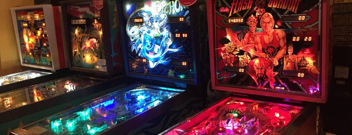 Superelectric Pinball Parlor is one of Gordon Square Arts District.
