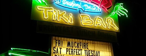 Grills Seafood Deck & Tiki Bar is one of Places to try.
