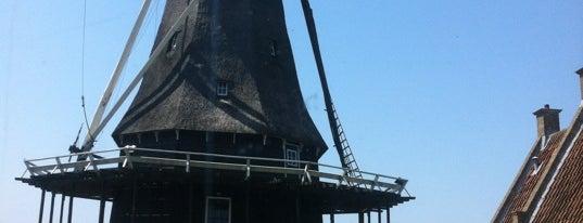 Molen De Herder is one of Dutch Mills - North 1/2.