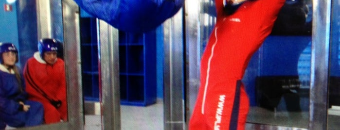 iFly Orlando is one of Florida Rides 2012.