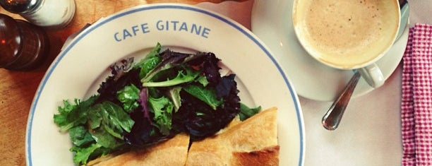 Cafe Gitane at The Jane Hotel is one of NYC to try.