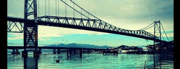 Ponte Hercílio Luz is one of sem perímetro.